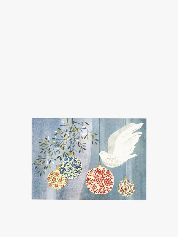 Festive Dove Deluxe Box Cards Cards Pack of 20
