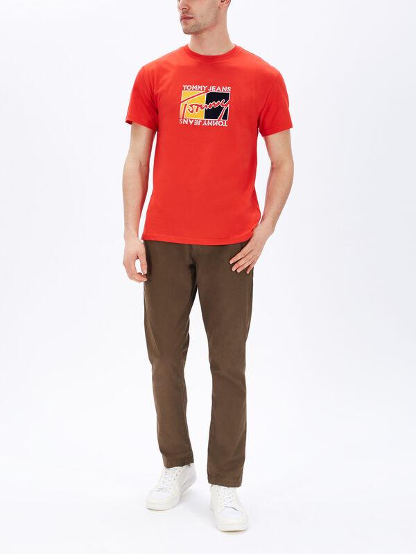 Flag Script T-Shirt