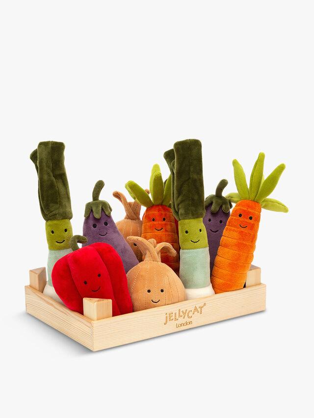 Vivacious Vegetable Display Box