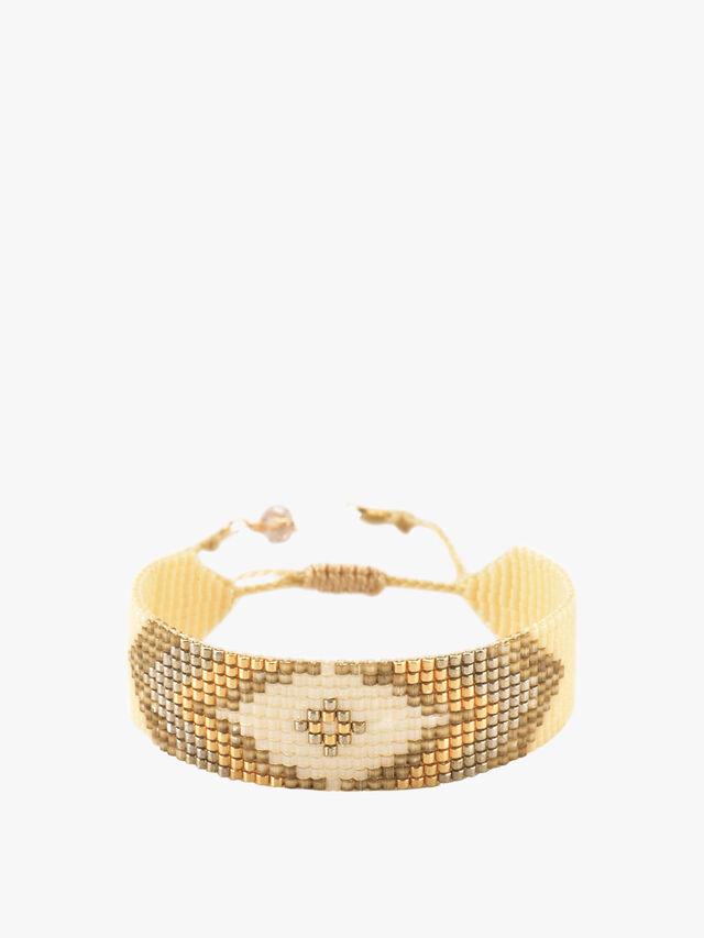 Peeky Beaded Bracelet