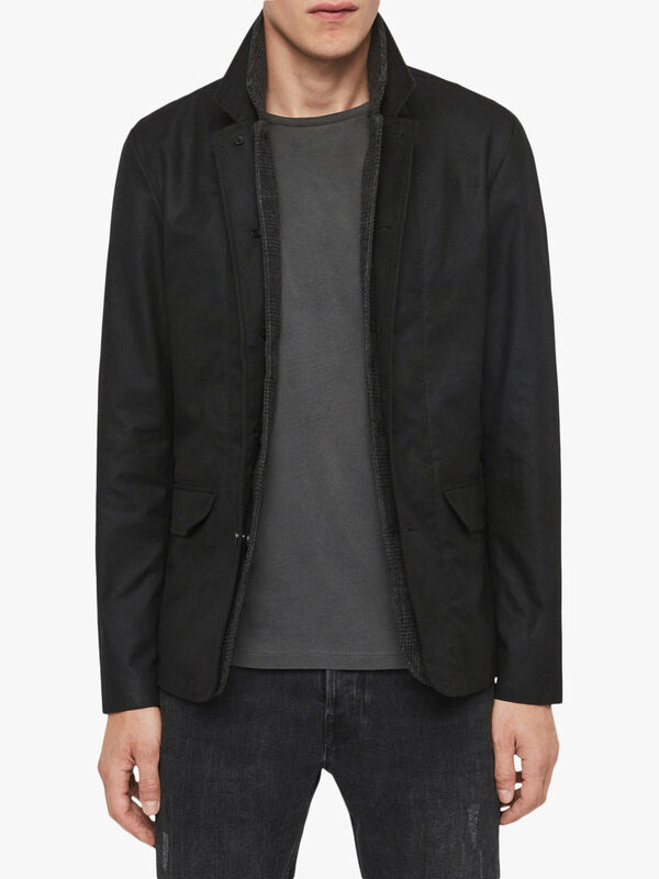 Survey Leather Blazer