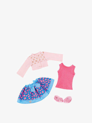 Getting Glittery Outfit