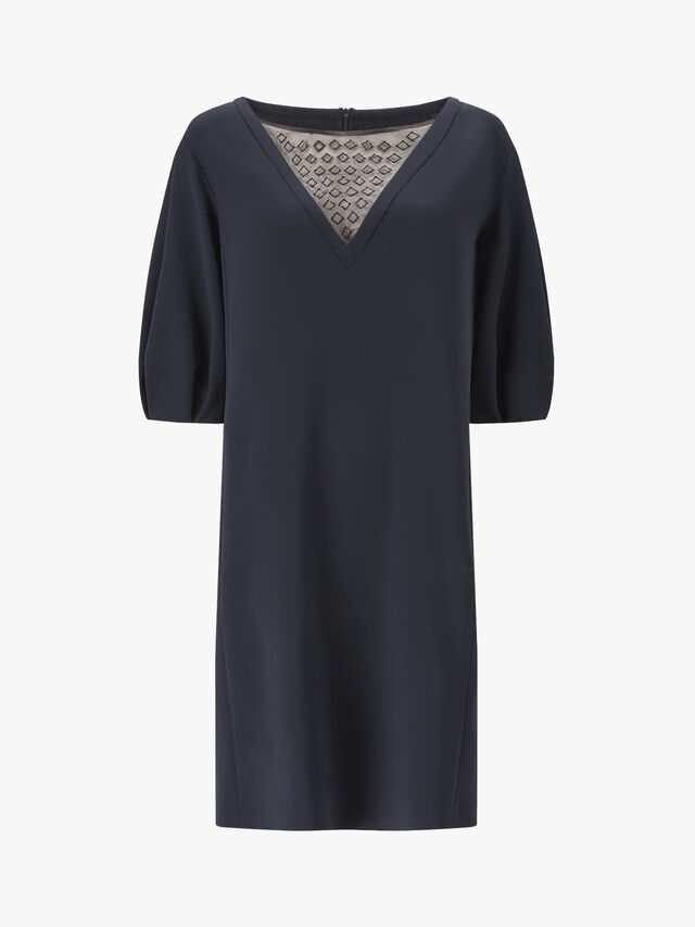 Frank Detailed Front Dress