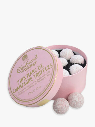 Pink Marc De Champagne Truffle