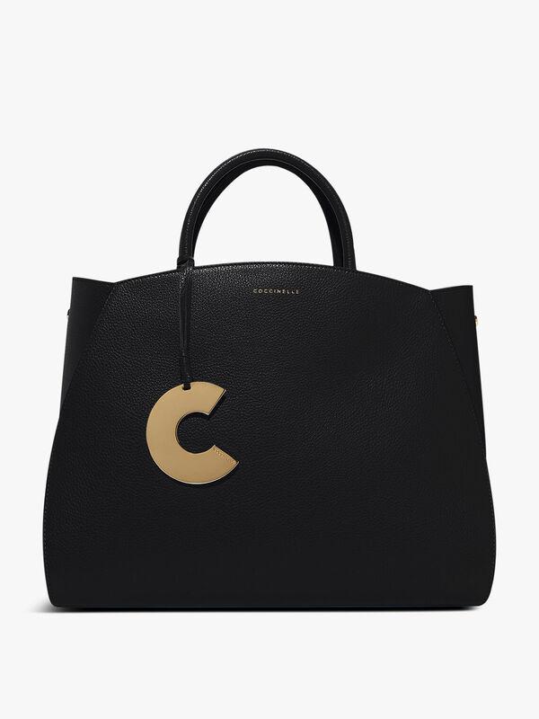 Concrete Top Handle Bag
