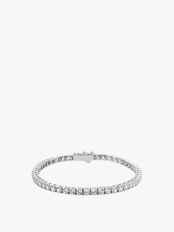 Vianne Round Prong Tennis Bracelet