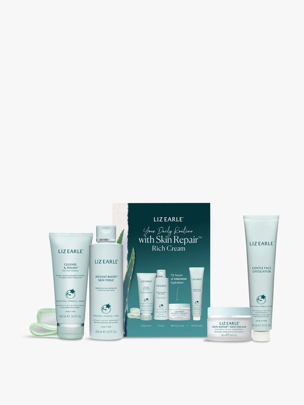 Your Daily Routine with Skin Repair Rich Cream Kit