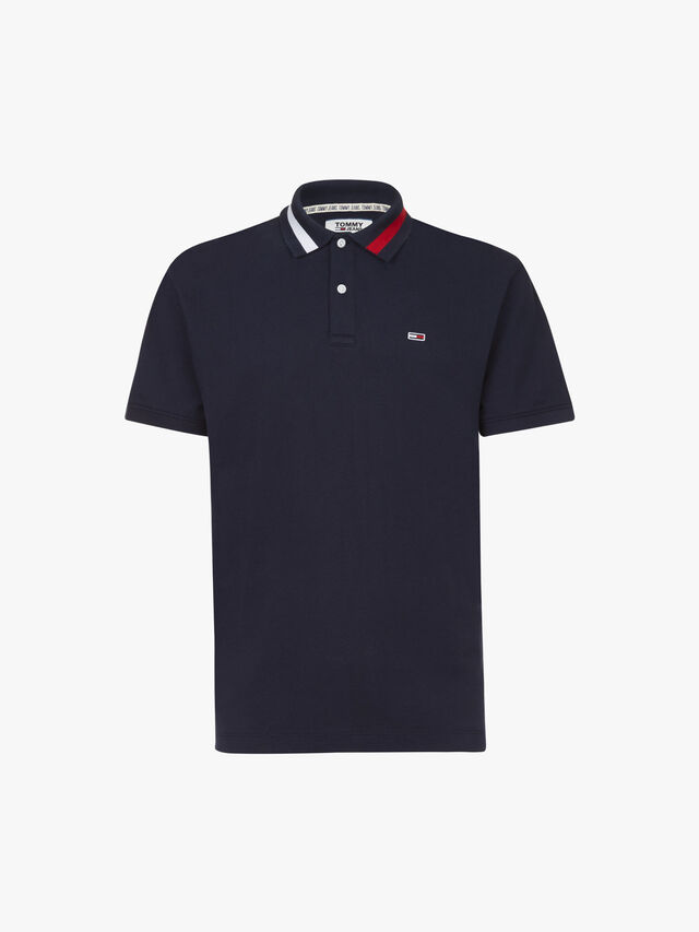 Flag Neck Polo