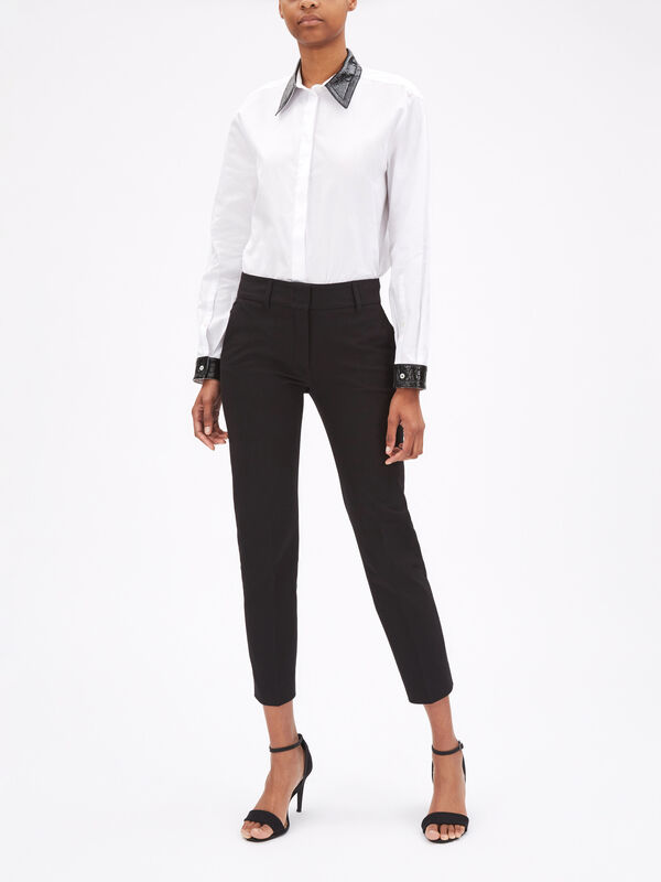 Kim Stretch Cotton Trouser