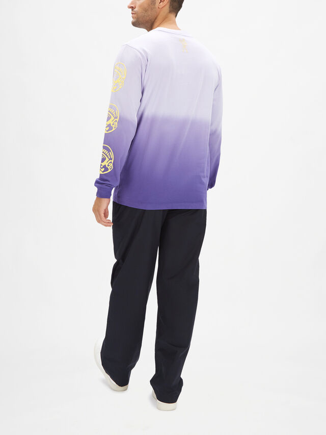 Dip Dye Long Sleeve T-Shirt