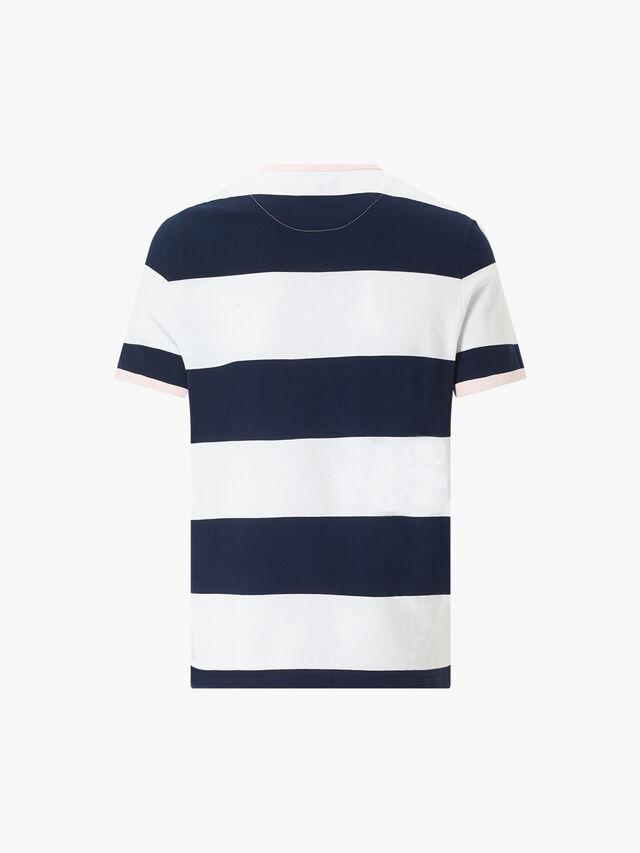 Wide Stripe Ringer T-Shirt