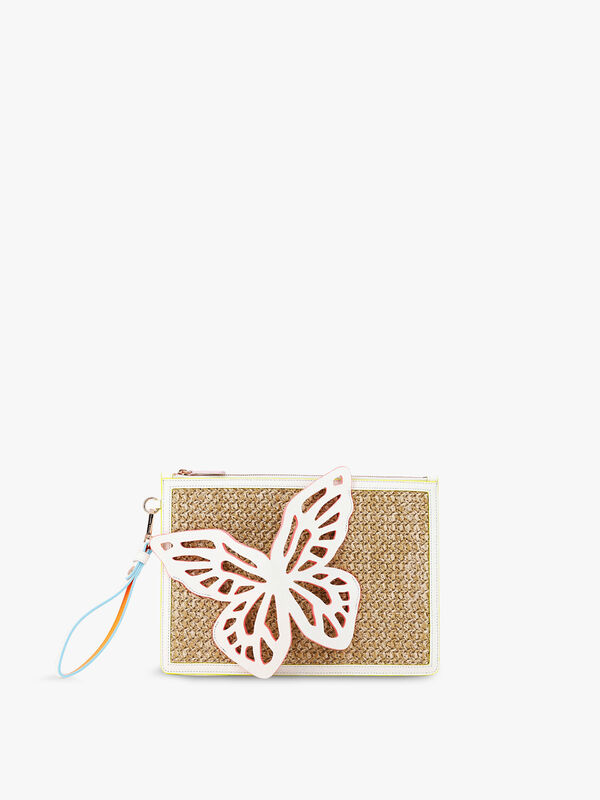 Flossy Butterfly Pouchette