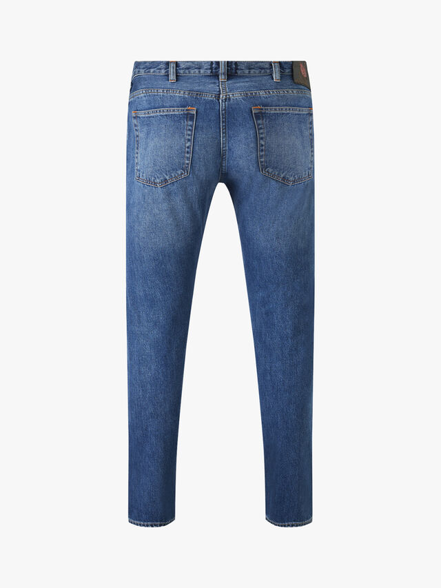 Twill Tapered Fit Jeans