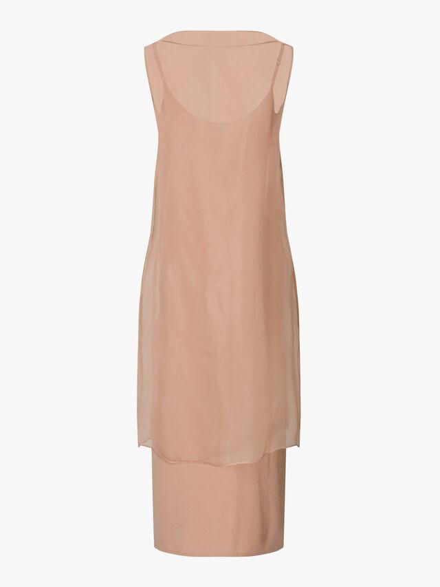 Bateau Neck Dress