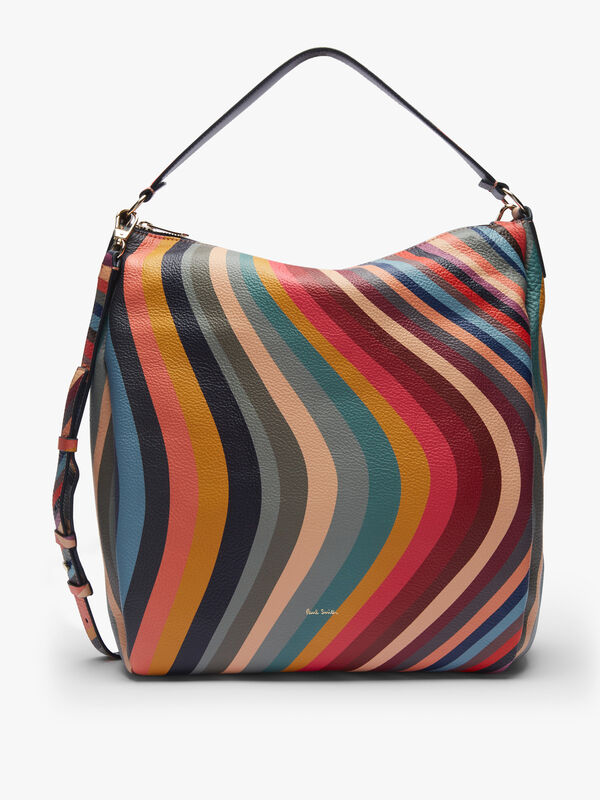 Mini Zip Hobo Swirl Bag