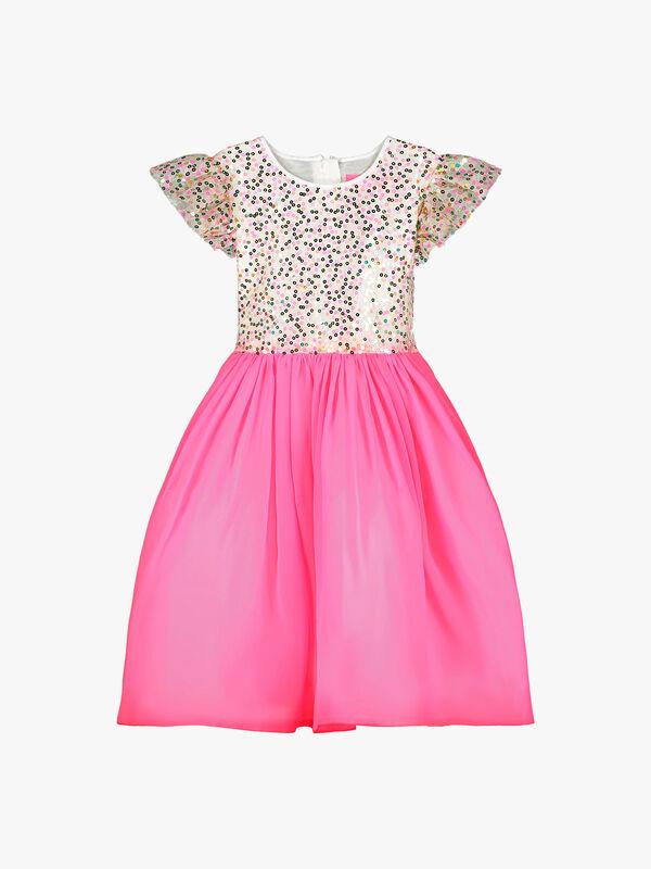 Shimmer Sweetie Sequin Dress