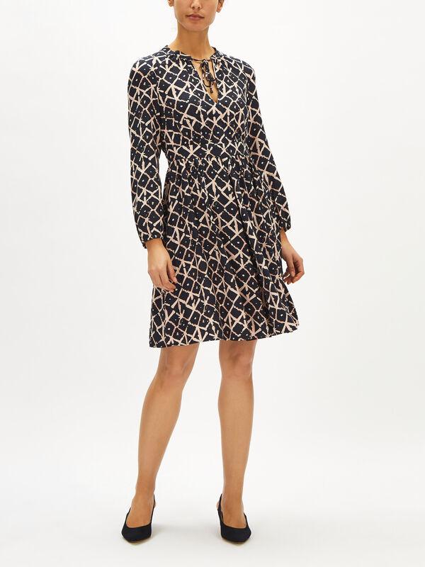 Daniella Smock Dress
