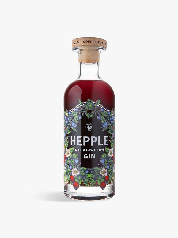 Hepple Sloe & Hawthorn Gin 50cl