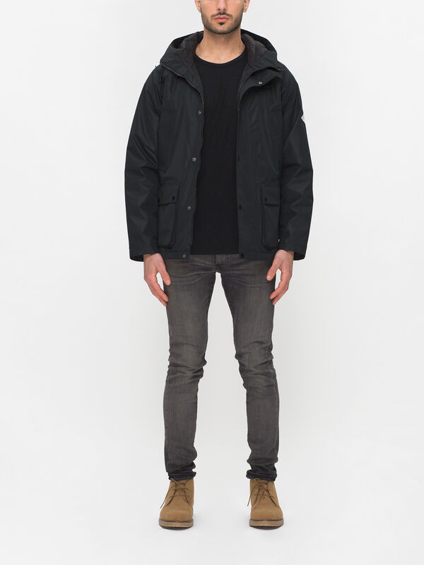 Hooded Bedale Jacket