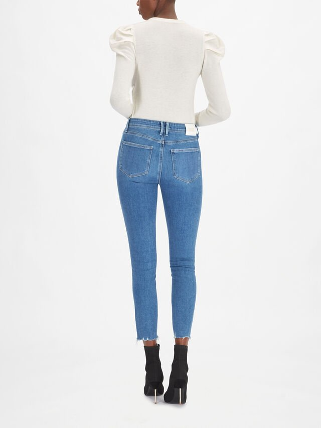 Margot High Rise Slim Ankle Jeans