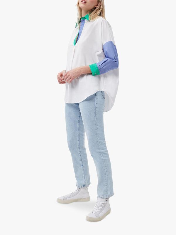 Ceises Colour Block Rhodes Popover Shirt