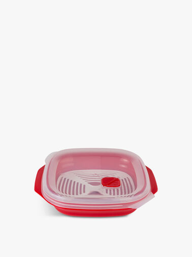 Microwave Plate with Rack