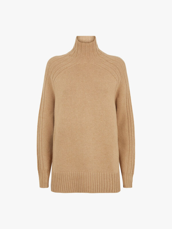 Chunky Roll Neck Knit