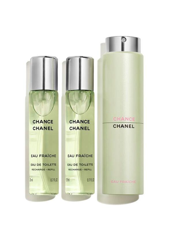 CHANCE EAU FRAÎCHE Eau De Toilette Twist and Spray 3x20ml