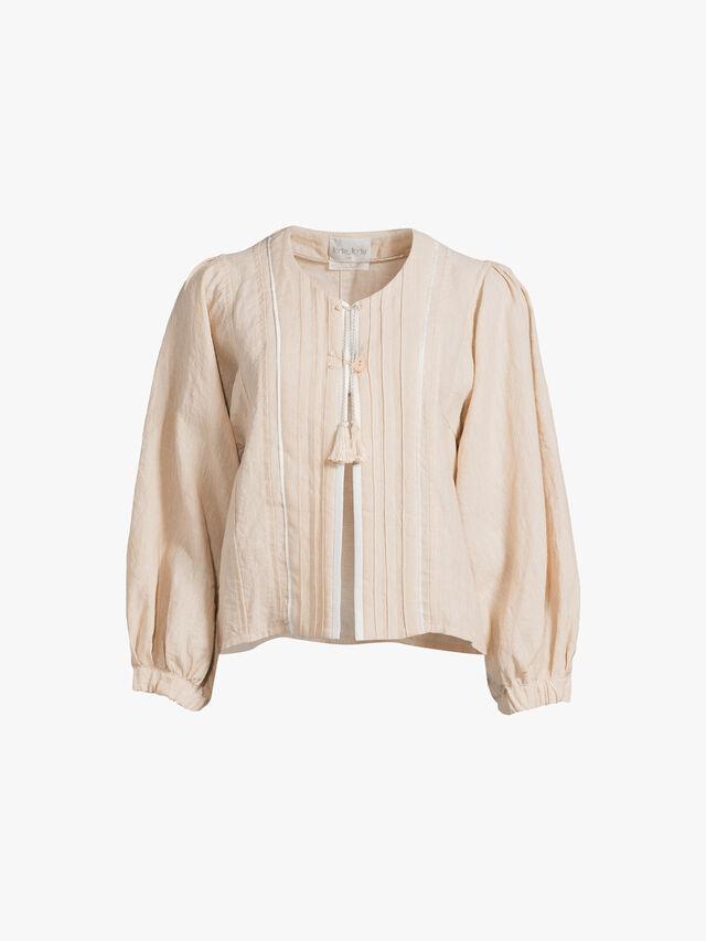 Linen Viscose Jacket
