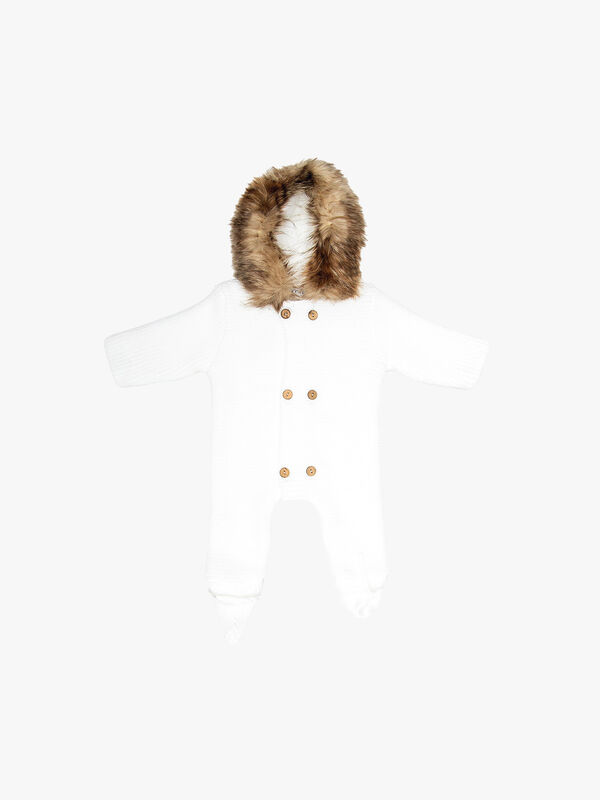 Knitted Pram Suit