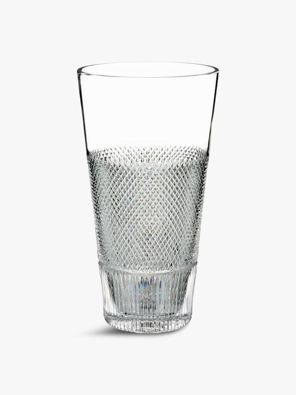 Lismore Diamond Line Vase 12in