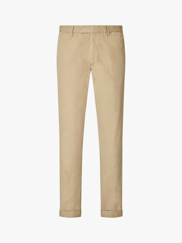 Washed Cotton Trouser