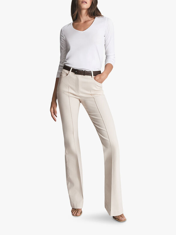 Amelia Premium Cotton-Jersey Top