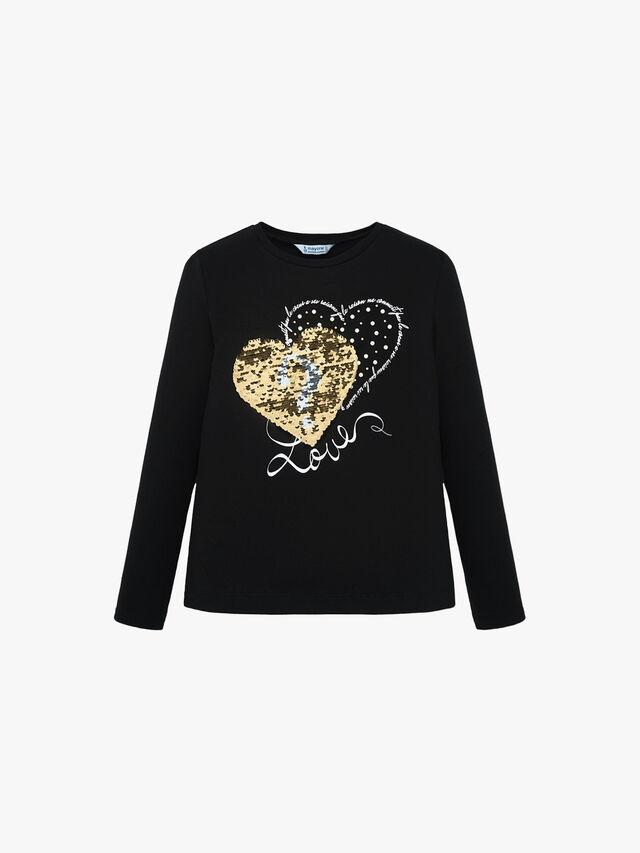 Sequin Heart Top
