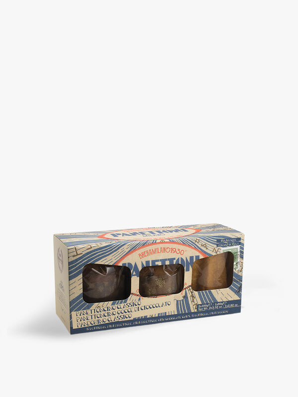 Three Pack Selection of Mini Cakes