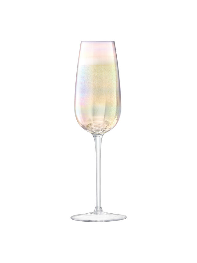 Pearl Champagne Flute Set of 4