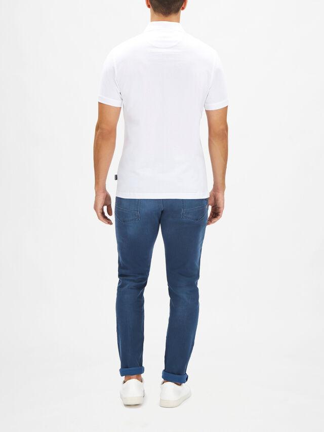 Tartan Pocket Polo Shirt