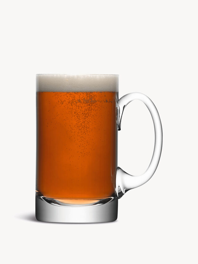 Beer Tankard Curved