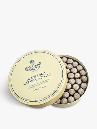 Sea Salt Milk Caramel Truffles
