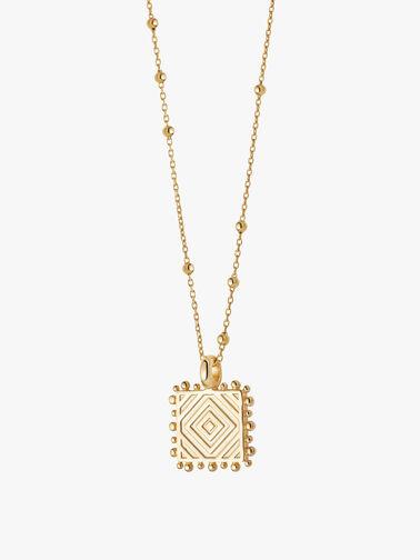 Artisan Square Necklace