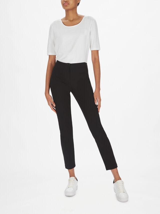 Smart Jersey Slim Fit 7/8 Trouser
