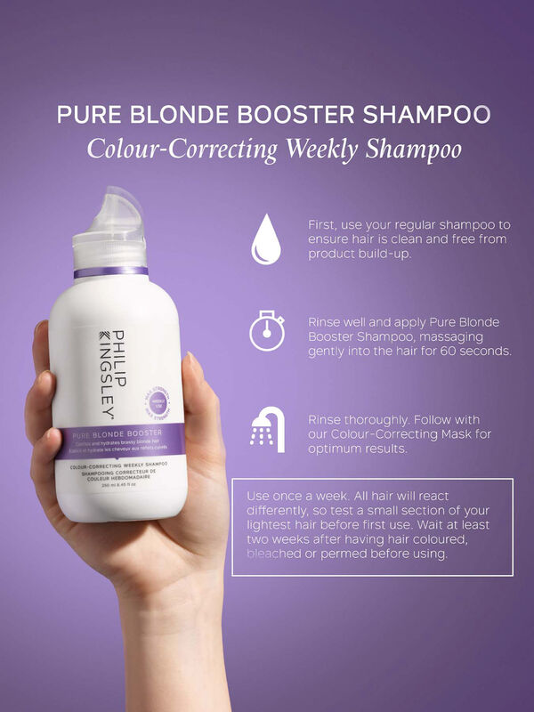 Pure Blonde Booster Shampoo 250 ml