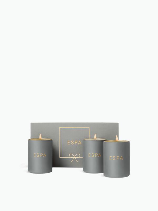 Trio of Light (3 Candles)