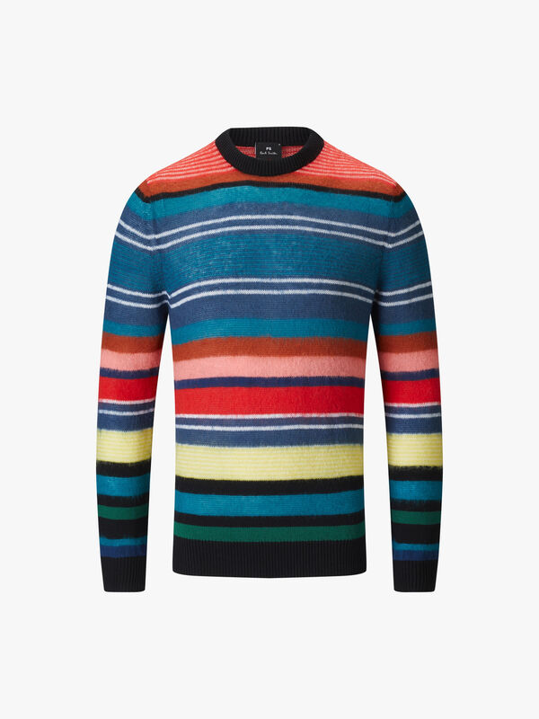 Multi-Colour Striped Sweatshirt