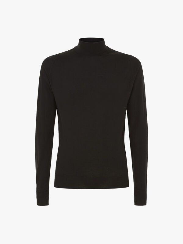 Cherwell Merino Wool Roll Neck