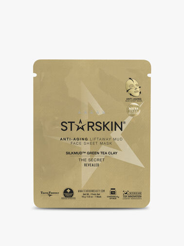 Silkmud Green Tea Clay Anti-Ageing Liftaway Mud Face Sheet Mask