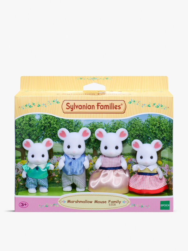 Marshmallow Mouse Family