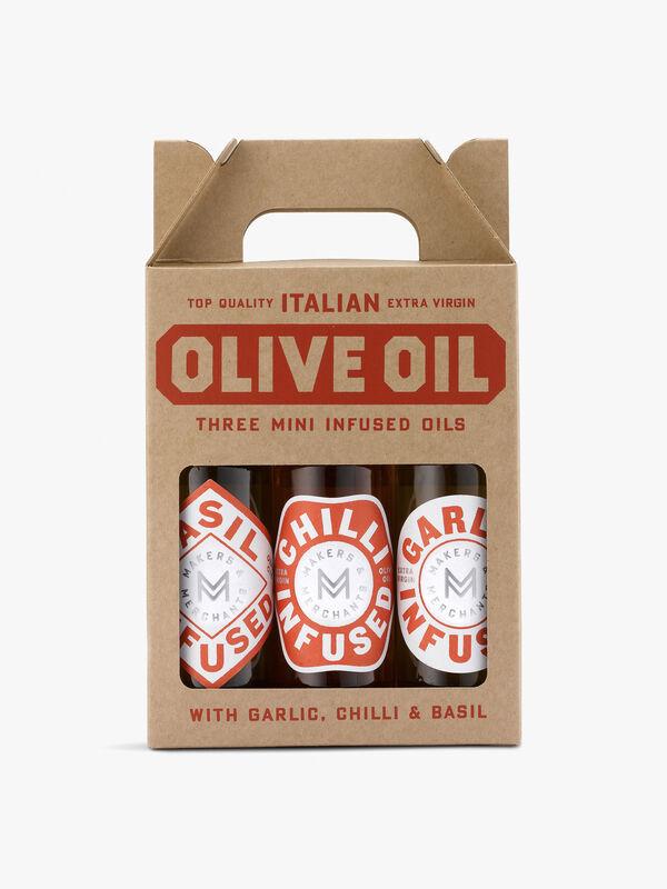 Three Measures of Pleasure Olive Oil Gift Set 300ml