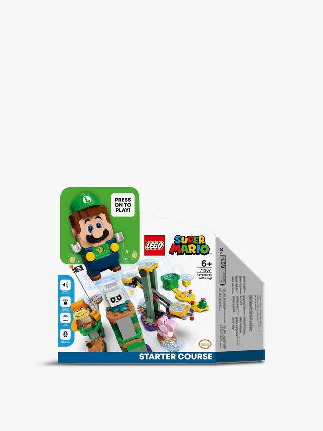 Super Mario Luigi Starter Course Toy