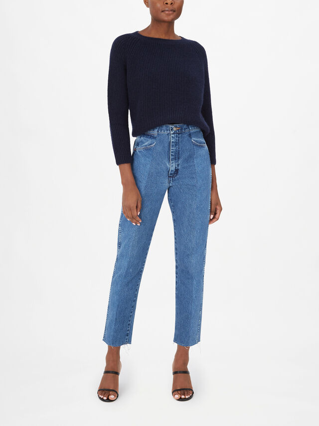The Twin Straight Leg Cropped